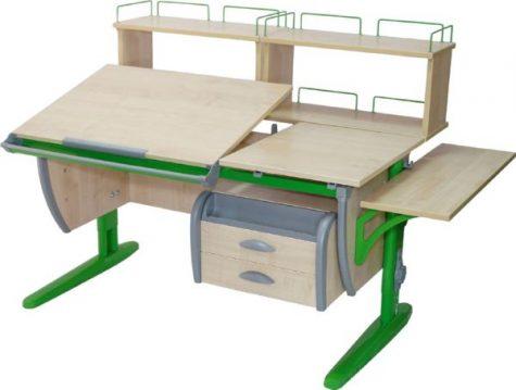 Парта трансформер ДЭМИ 120 см. модель СУТ 17
